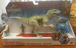 Jurassic World Indominus Rex Vs Gyrosphere Rare Hasbro Battle Damage Box NIB