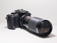 80-200mm= lens 160-400mm on Panasonic G lumix HD 4K Micro 4/3 Digital SLR G6 G1