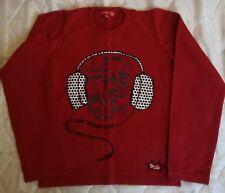 Sweatshirt Shirt Langarmshirt Pullover  Rot,.98,104,110,116,122,128,134,140,146