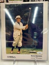 GENE SARAZEN Hand Signed 8x10 Photo..GOLF LEGEND!!! HOFer JSA