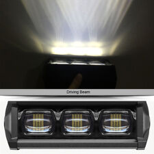 6D Lens 6000K White 30W Single Row Led Light Bar Work Light For Truck Trailer