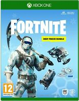 Fortnite Deep Freeze Bundle Xbox One Physical Disk - Read Desc - TOP SELLER