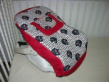 INFANT CAR SEAT CARRIER COVER M/W HOUSTON TEXANS FABRIC