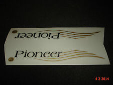 2 AUTHENTIC NOS RALEIGH PIONEER BIKE FRAME STICKERS #17 DECALS