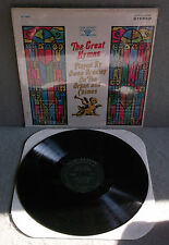 OWEN BRADLEY  THE GREAT HYMNS  Vocalion Decca Lp Gospel VL73834 Organ Chimes