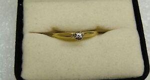 14K YELLOW GOLD ZALES DESIGNED DIAMOND RING SIZE 7 1/4 (G-5P)