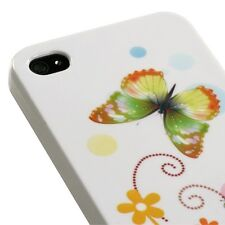 For Apple iPhone 4 4S Ultra Slim HARD Phone Case BACK Cover Prismatic Butterfly