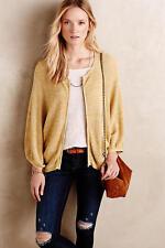 """NWOT ANTHROPOLOGIE SPARROW """"Sable Kimono"""" Sweater/Jacket/Cardigan XS Soft Yellow"""