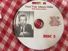 Crime Detective Mystery Johnny Dollar Radio shows -  Disc 3 - Mp3 CD