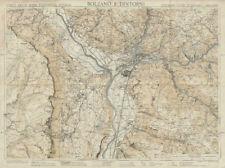 Bolzano dintorni Bozen area Italy South Tyrol TOURING CLUB ITALIANO c1965 map