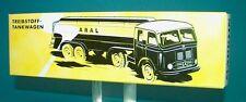 M&B Marklin 18032 Aral tankcar truck mercedes replica