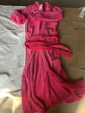 Long Tall Sally Pink Dressing Gown, House Coat Size Large, Box 1