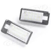 LED License Plate Light Lamp CAN-bus White Error Free for Audi A3 A4 A6 S6 A8 Q7