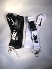 2x Nike Lanyard Detachable Keychain Badge ID Holder Strap + FREE GIFT