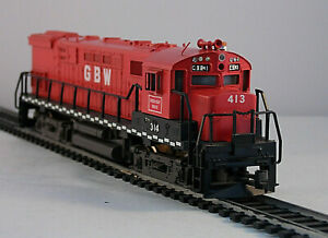 Vintage HO scale Green Bay Route Diesel Locomotive GBW # 314 Made in Austria