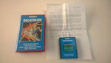 Decathlon - Atari 2600 - Activision - Complet - Atari 7800 - 2600
