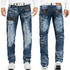 Kosmo Lupo Herren Jeans Designer Hose Mens Pants Clubwear Denim Swag Cargo Style