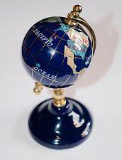 Gemstone Desktop Globe Lapis Lazuli 11cm