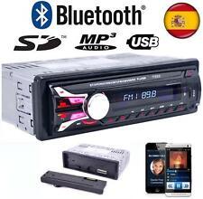 Auto Radio Para Coche Bluetooth FM MP3 SD/USB/AUX 50x4 Frontal extraible y Mando