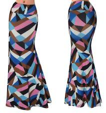 Gonna Lunga Donna Maxi Anni 90 - Woman Maxi 90's Printed Skirt 130054 P