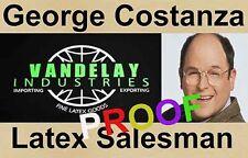 GEORGE COSTANZA / Seinfeld Novelty ID  ~ Free Ship ~