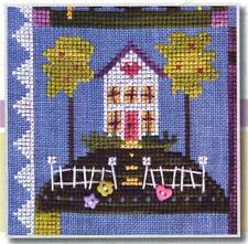 SamSarah COME HOME EARLY! Cross Stitch Leaflet Only from Daily Life Series