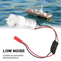5V/3-6V 370 RC Water Cooling Pump JR Plug Accessory for RC Boats Motor & ESC