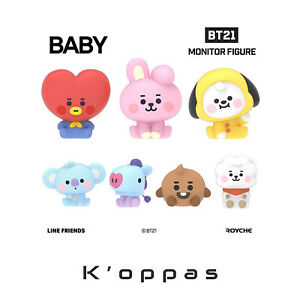 Official BT21 Baby Monitor Figure Baby Characters Edition KPOP Authentic Goods