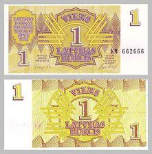 Letonia/Latvia 1 rublis 1992 p35 unz.
