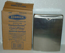 Bobrick B-270 Contura Sanitary Napkin Disposal Stainless Steel Receptacle NEW