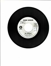 Ronnie Hawkins ROCK-A-BILLY45(MONUMENT8573)Bo Diddley(stereo)/Same(mono)VG+PROMO