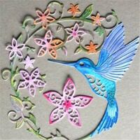 Hummingbird Cutting Dies Crafts Dies for DIY Scrapbooking Card Album Ed6E  #vv