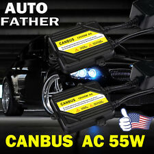 55W AC CANBUS ERROR FREE BI-XENON HID For H7 H1 H3 H8 H9 H11 H4/HB2 9005 9006 UK