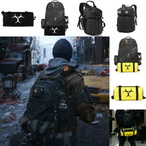 Tom Clancy's The Division SHD Zone Agent Go Archer Backpack Rucksack Set Bag