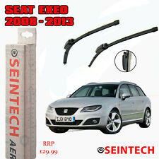 """SEAT EXEO 2008-2013 SPECIFIC FIT FRONT WINDSCREEN WIPER BLADES 22""""22"""""""