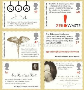 GB PHQ CARDS USED REAR FDI 2004 NO. 267 ROYAL SOCIETY OF THE ARTS B,HAM PMK ETC