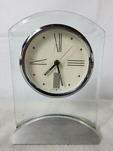 Howard Miller 645-397 Desk Mantle Quartz Alarm Clock Tribeca