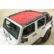 Rugged Ridge 13579.25 Eclipse Sun Shade Full Cover Red for 2007-2016 JK 4 Door