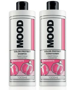 Mood Colour Protect Shampoo & Conditioner SUPER SIZED DUO pack 1000ml each