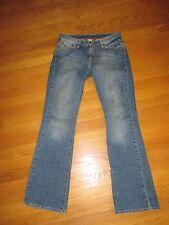 Ladies Lucky Brand Blue Denim Sweet N Low Jeans Size 4