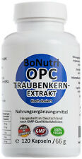 Traubenkernextrakt OPC Hochdosiert 475 mg pro Tag 120 Kapseln hoch dosiert vegan