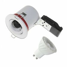 Pack Support de Spot LED inclinable + Ampoule LED GU10 Spot 6W Dimmable 4000°K