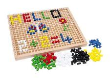 Steckbox Steckspiel Farben Lernen Kinder Motorik Kreativität fördern Holz Spiel