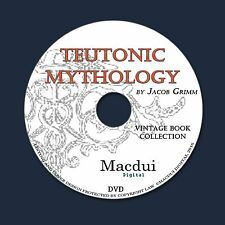 Teutonic mythology 1882 – 4 Vintage e-Books Collection on 1 DATA DVD