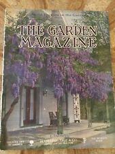 The Garden Magazine. June 1911. Good Condition. Home Publication. Antique Rare.