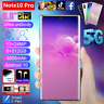 5G Note10 Pro 6,8 Zoll Handys Dual SIM 512GB Android 10 Ohne Vertrag Smartphone