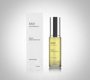 MD3 Strong 2% Retinol A Vitamin E Anti Wrinkle Blemish Acne Scar Treatment Serum