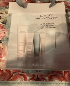 Mary Kay TimeWise Anti Aging Miracle 3D Full Size Combination To Oily Set 4 in 1