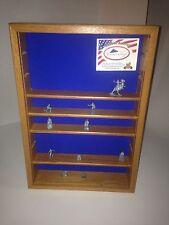 Oak WALL HANGING DISPLAY SHELF SHADOW BOX (Made In Wisconsin)