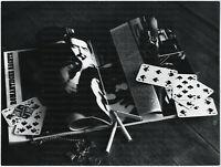 Nachlass Anne Mayr-Falkenberg, Stilleben, Großes Original-Foto um 1965.